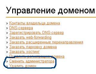панель webnames