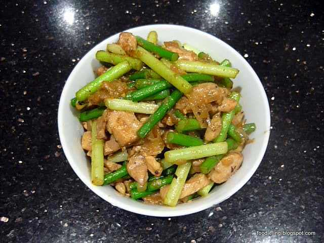 Foodie Ling An Adelaide Food Blog Stir Fried Chicken