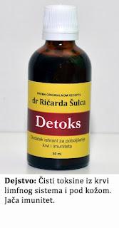 Detoks, tinktura za čišćenje krvi