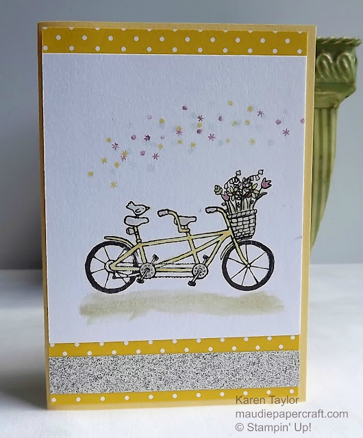 Stampin' Up! Pedal Pusher card