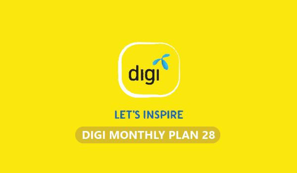 Penambahan Terbaru Digi Monthly Plan 28