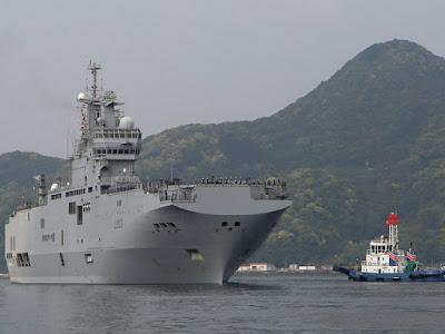 Kapal Mistral Perancis