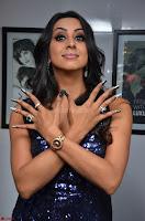Sanjana looks happy in sparkling short Deep neck Purple Gown ~  Exclusive 51.JPG