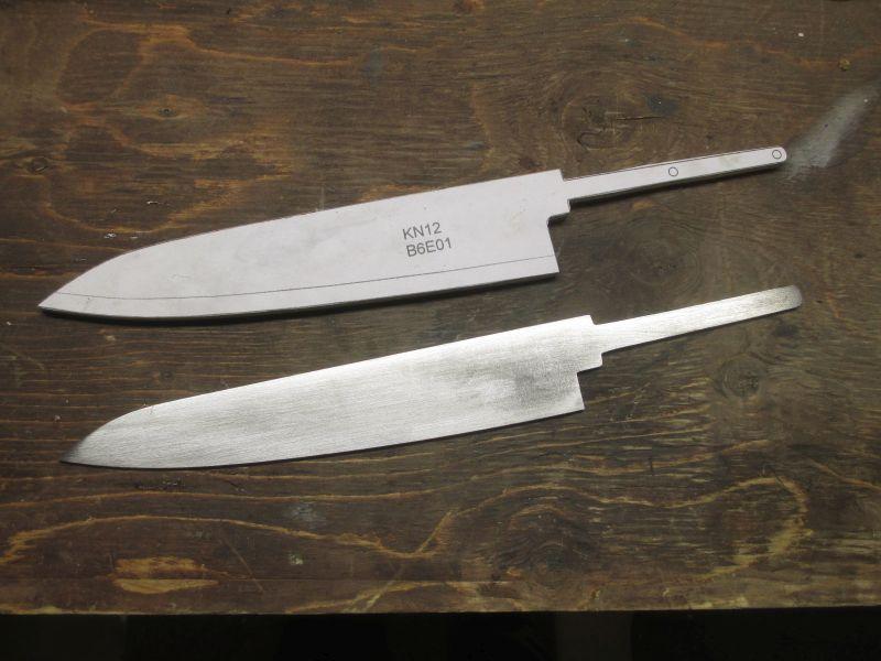 Diy Knifemaker S Info Center Kn12 Petty 205mm Layout