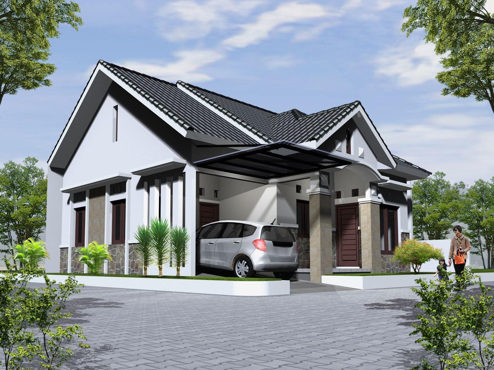 50 Desain Atap Rumah Minimalis Modern 1 Lantai Terbaru 2017 2018