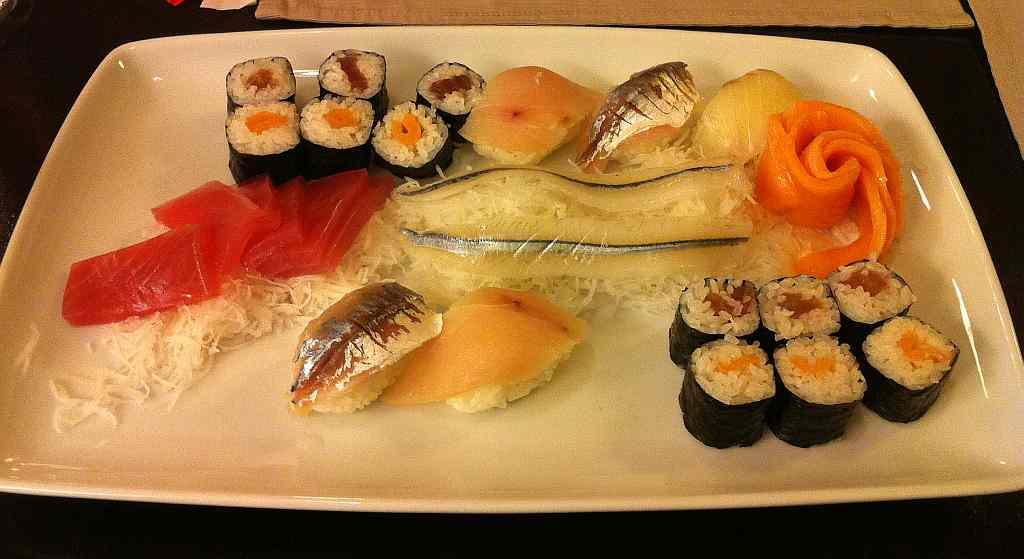 puteți mânca sushi să piardă în greutate