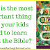 The Most Important Thing We Need To Teach Our Kids About the Bible (And a Review of The Biggest Story DVD and Audiobook)