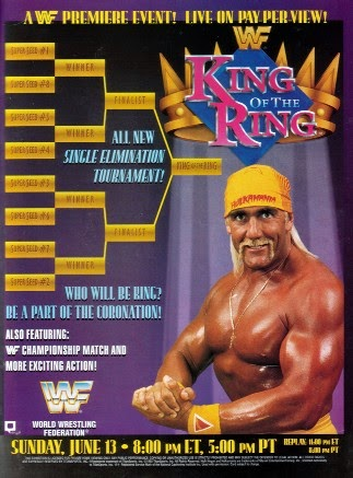 WWF / WWE: King of the Ring 1993 - Poster