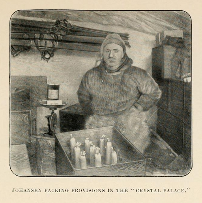 Amundsen's South Pole expedition ~ vintage everyday