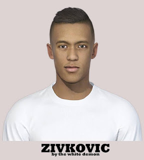 PES 2019 Faces Richairo Živković by The White Demon