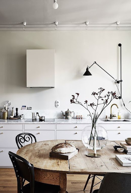 image result for modern farmhouse interior design beautiful white kitchen