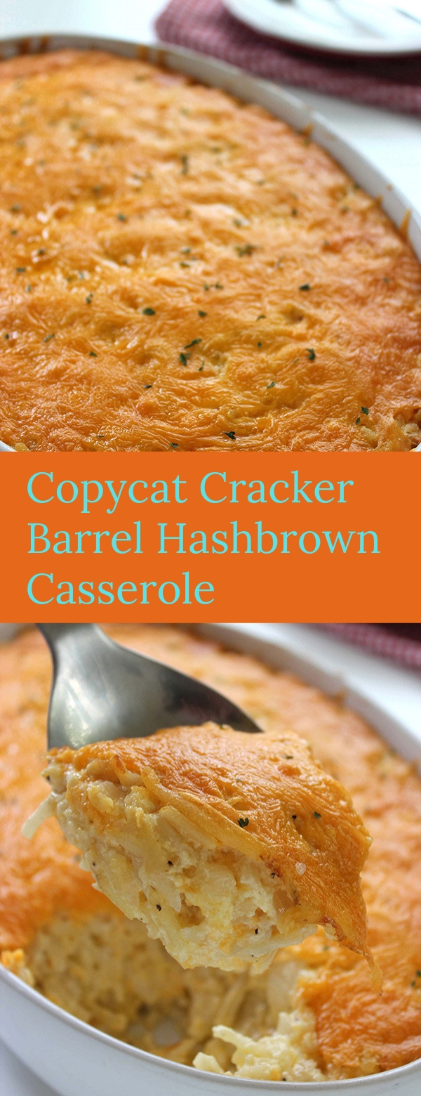 Copycat Cracker Barrel Hashbrown Casserole #COPYCAT #CRACKER #CASSEROLE