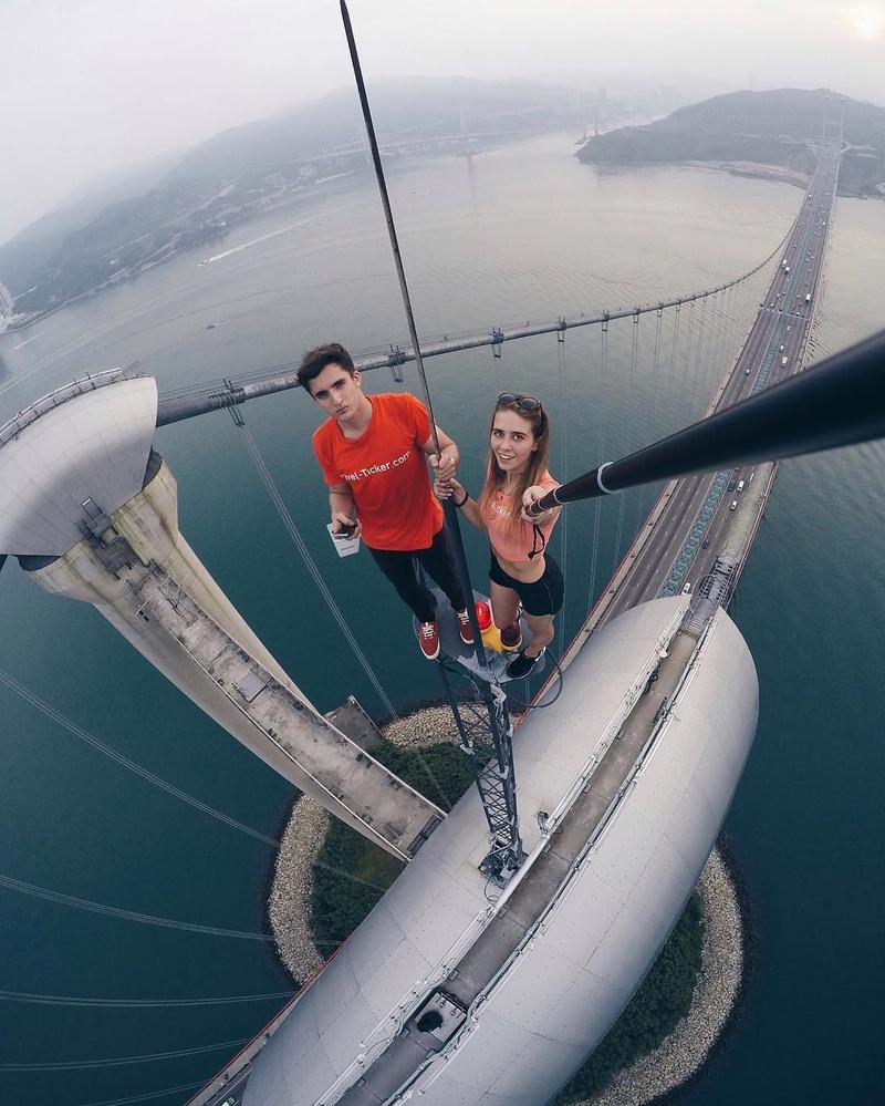 أعلى جسر