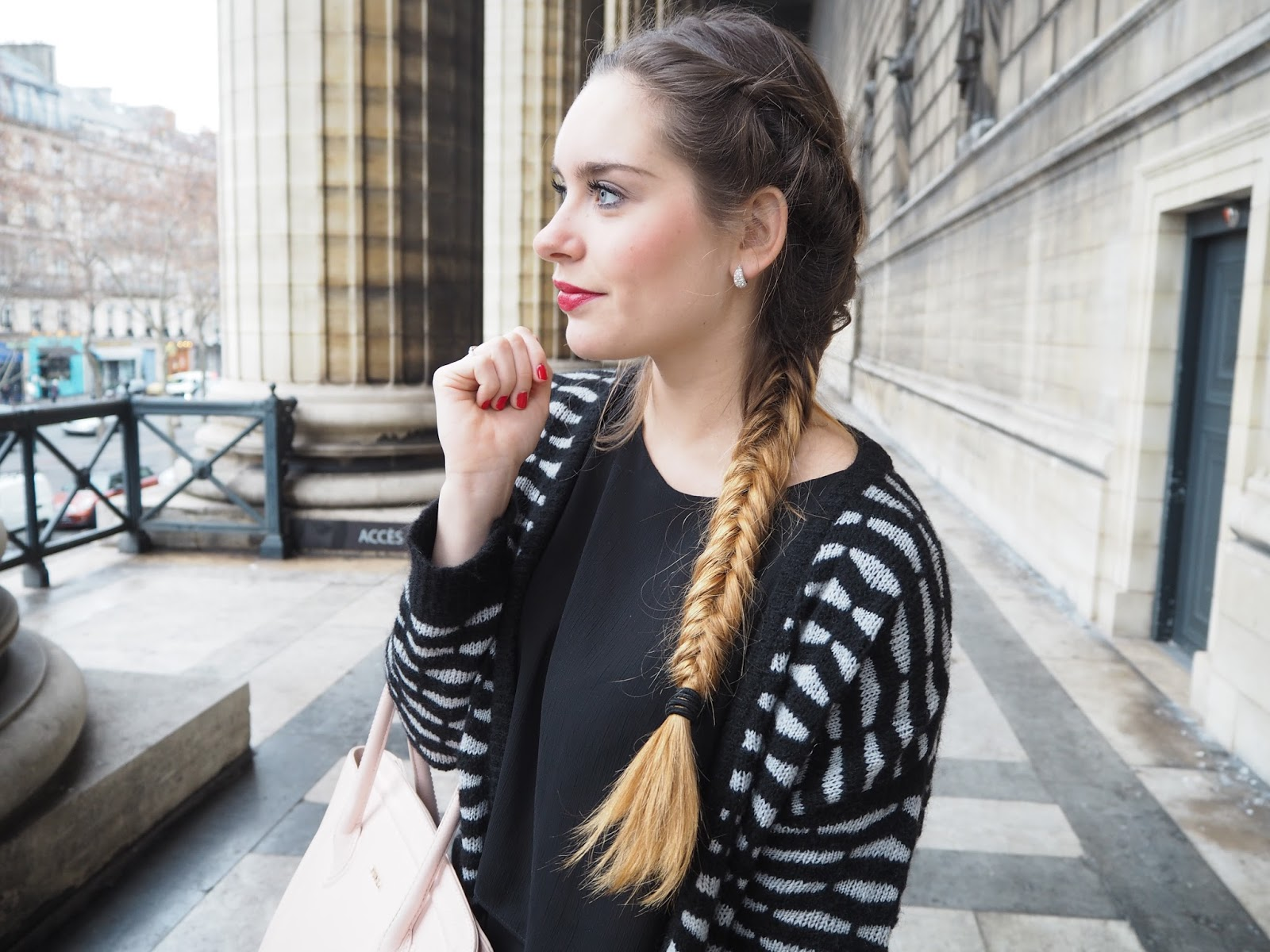 coiffure blogueuse mode