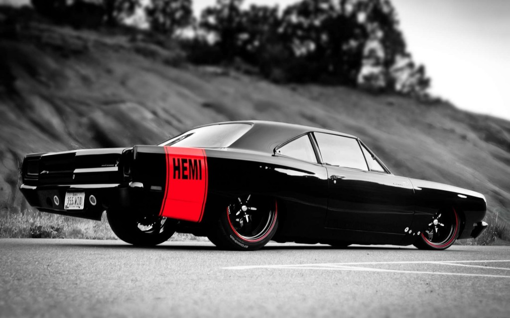 muscle car hd widescreen wallpaper 1024x640