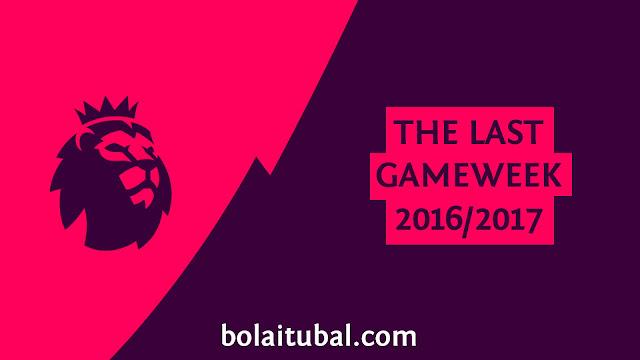 Pekan Terakhir EPL 2016/2017, Siapa Pantas Nomor Empat?