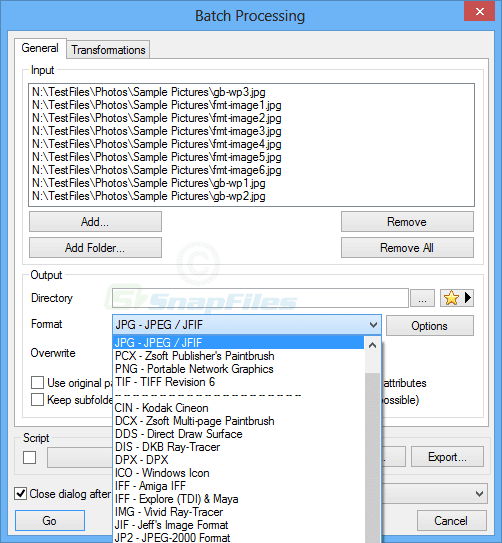 برنامج تحويل الصور