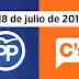 Albert Rivera apoya a Mariano Rajoy para que el PP presida el Congreso