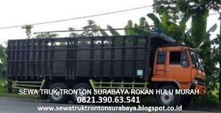 SEWA TRUK TRONTON SURABAYA ROKAN HULU (PASIR PANGAIRAN) MURAH
