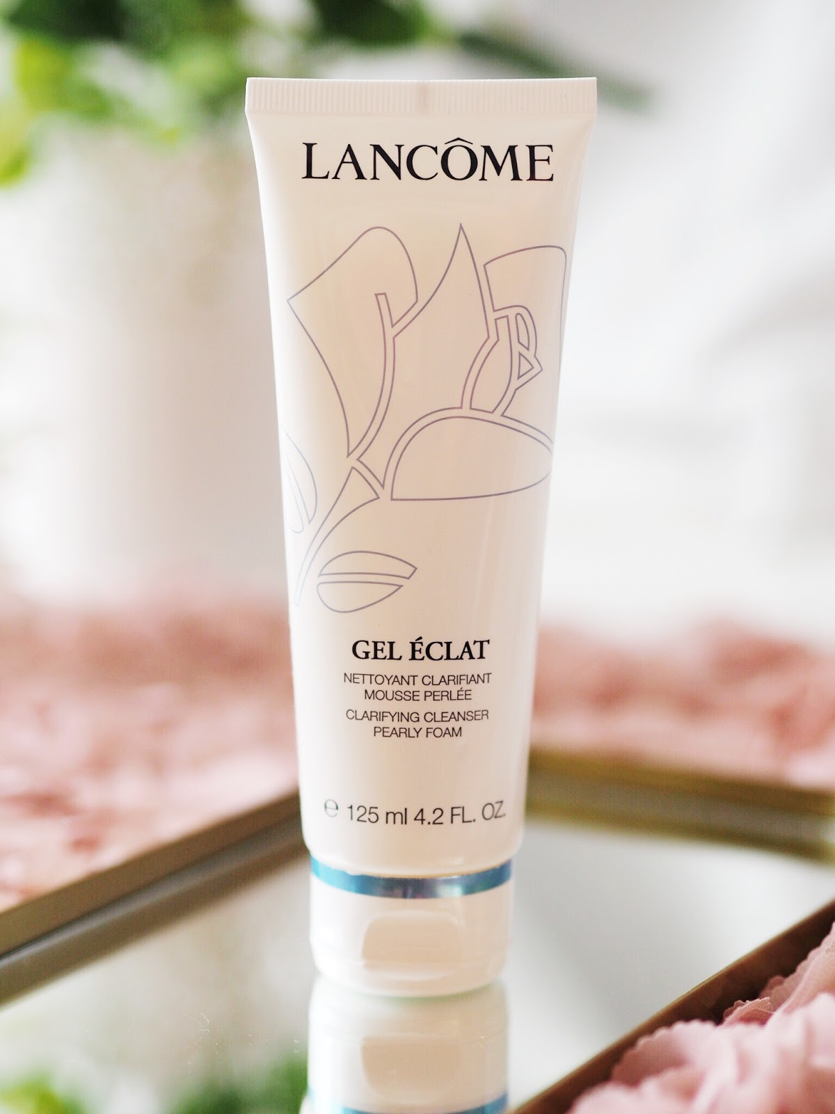 lancome gel eclat cleanser review blog post
