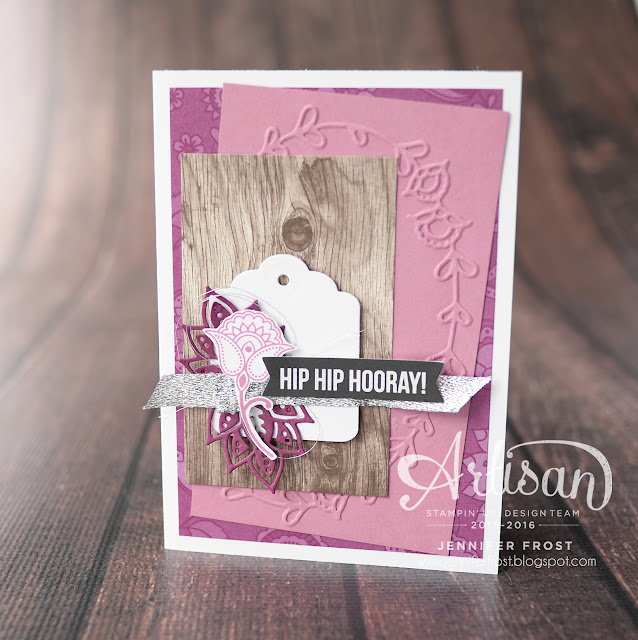 Paisleys & Petals, Stampin' Up!, All Year Long Project Life Card Collection, Papercraft by Jennifer Frost
