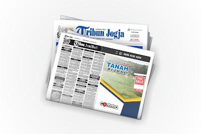 pasang iklan Tanah Dijual di koran Tribun Jogja