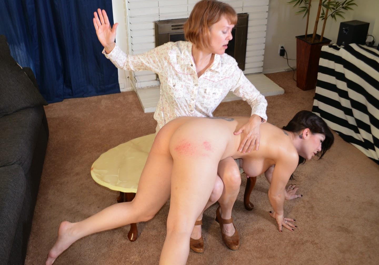 Witness diaper change spank