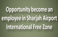 Sharjah Airport International Free Zone job