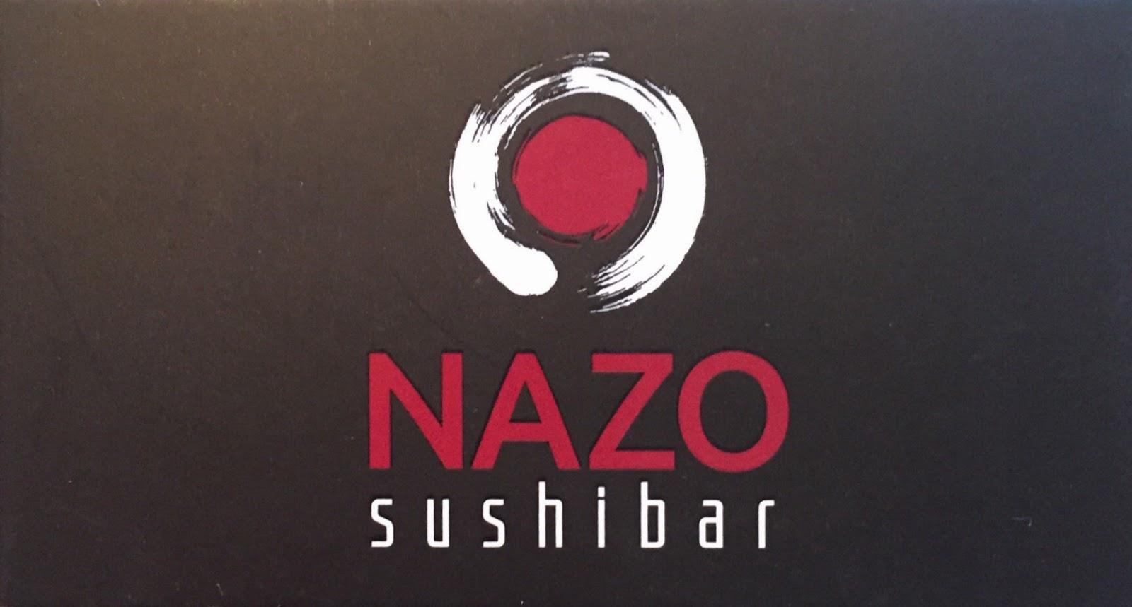 tenho fome de que nazo sushi bar