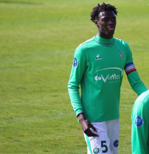 Saint-Etienne confirm death of defender William Gomis after he was 'shot dead' at the age of 19