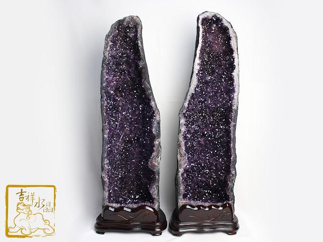 紫水晶洞雙胞胎