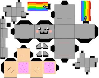 Cubeecraft Nyan cat para descargar gratis