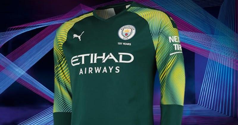 Manchester City 19 20 Goalkeeper Home Away Amp Third Kits