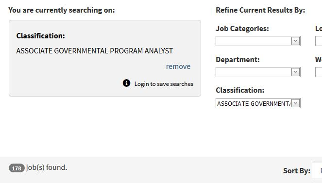 Image of refining location job search by Classification