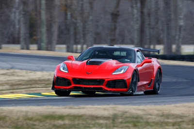 Chevrolet Unveils the New 2019 Corvette ZR1