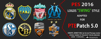 PES 2016 LOGOS PACKS FOR PTEPATCH 5.0 by PTEPatch Team