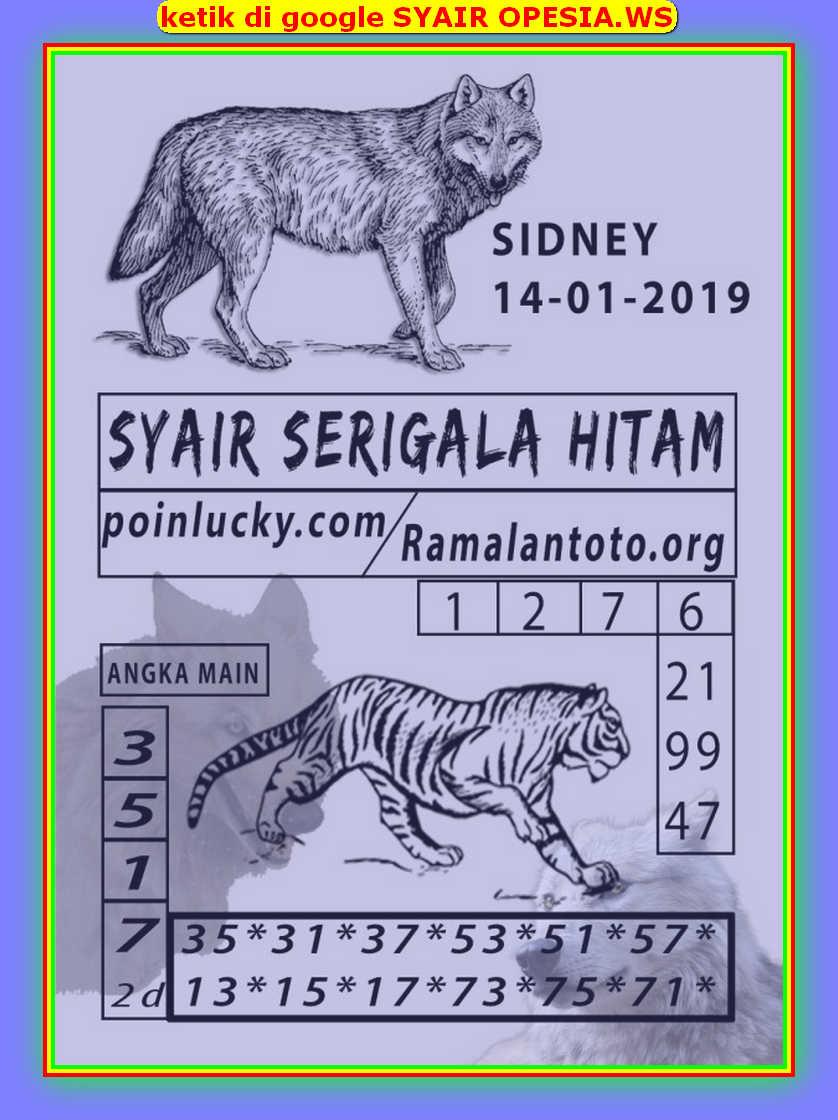 Kode syair Sydney Selasa 14 Januari 2020 45
