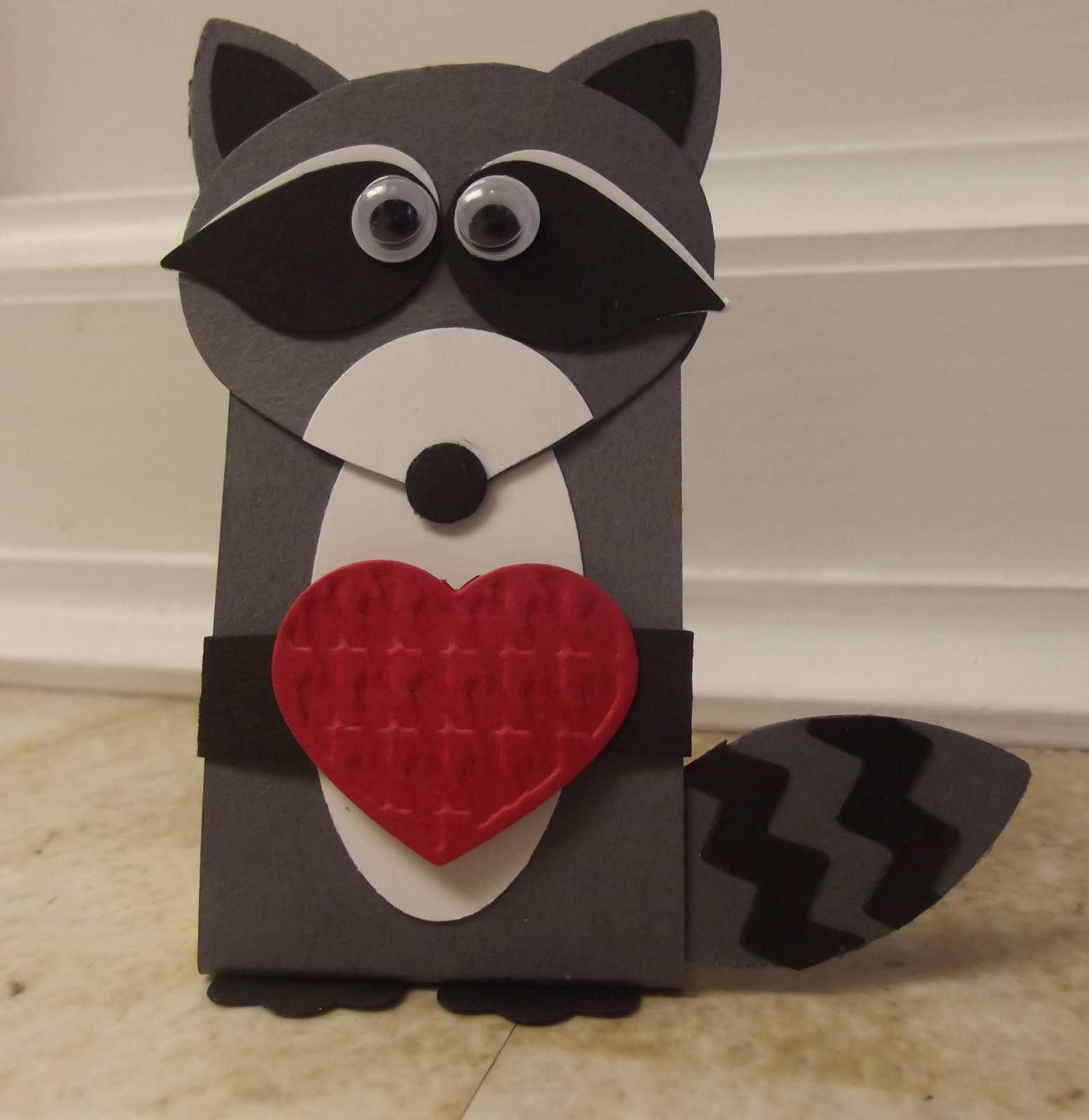 Stamping Sanity Sweet Raccoon