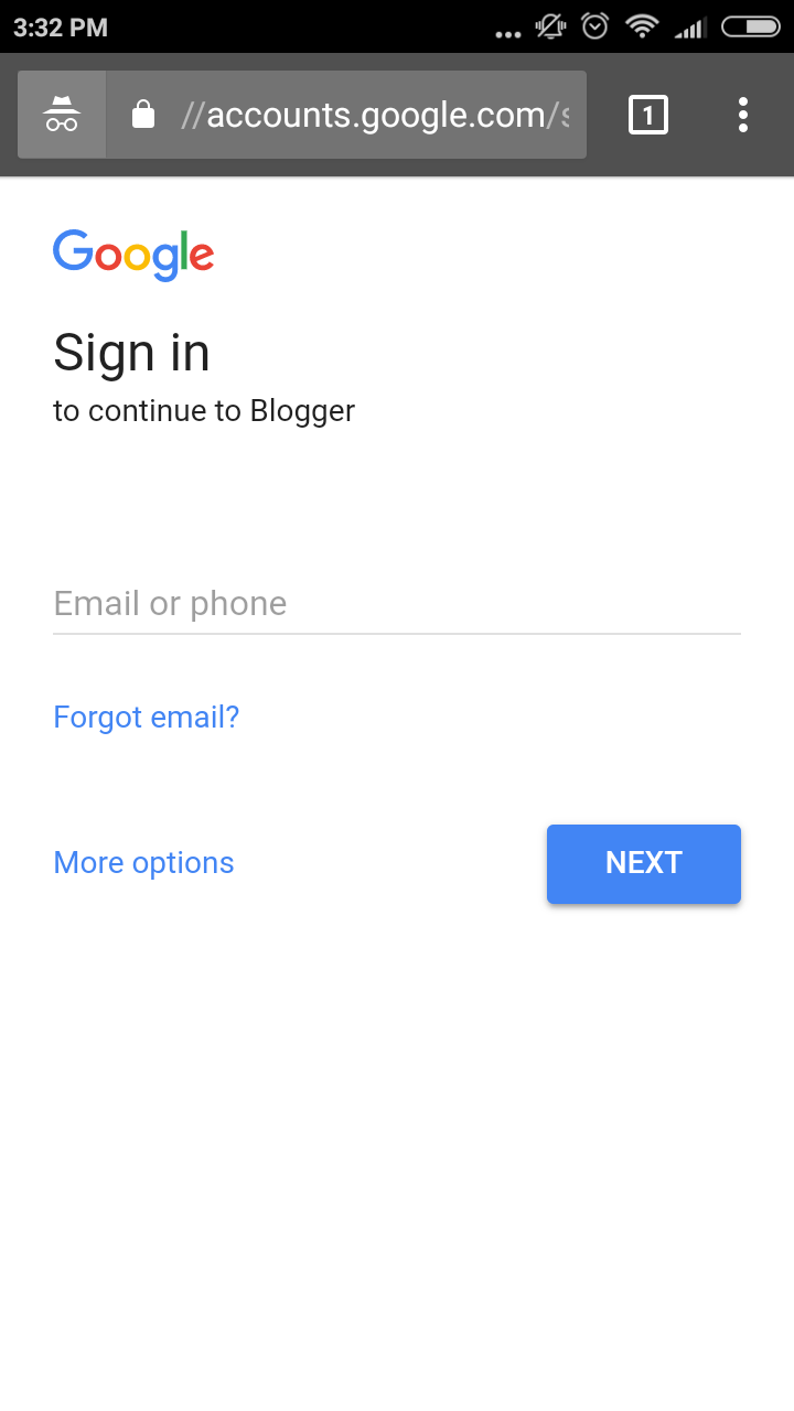 cara mudah membuat blog di blogspot masuk pakai akun gmail