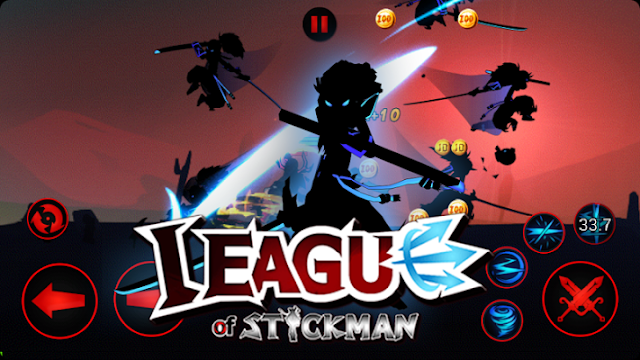 League of Stickman 2017 Mod Apk v3.0.2