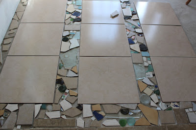 How To Install A Broken Tile Mosaic Floor Carpets