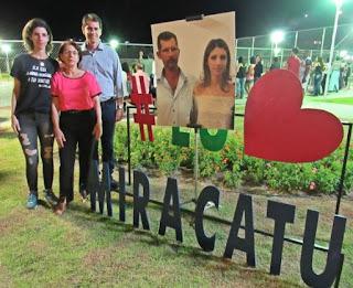 Prefeitura de Miracatu inaugura Praça Vice-Prefeito Joaquim Policarpo Faúla