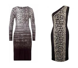 Платья с леопардовым принтом для Холодного цветотипа