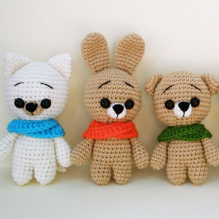 10 Free Crochet Giraffe Amigurumi Patterns - Amigurumi | 700x700