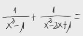 4.Suma de fracciones algebraicas 4
