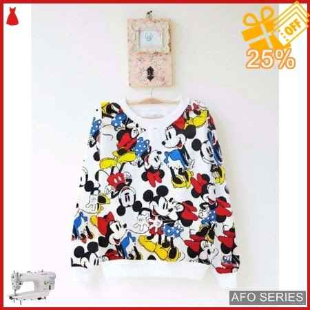 AFO705 Model Fashion Sweater Big Minnie LD 100 Murah BMGShop