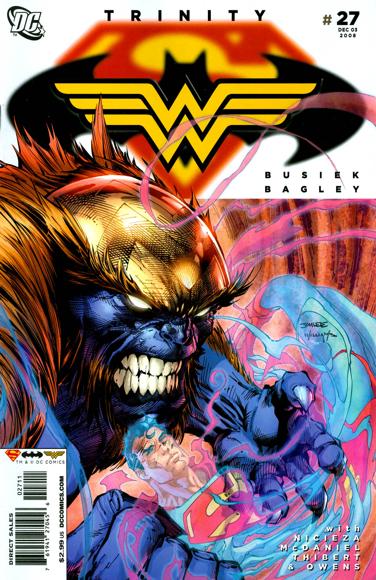 Read online Trinity (2008) comic -  Issue #27 - 1