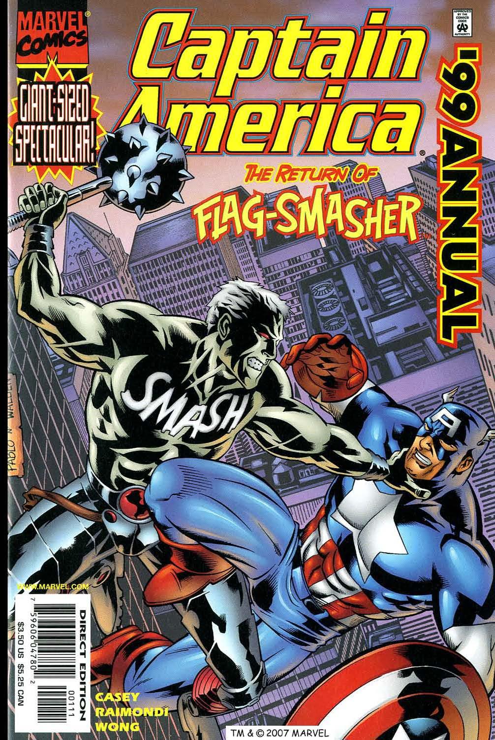 Captain America (1998) Annual_1999 Page 1