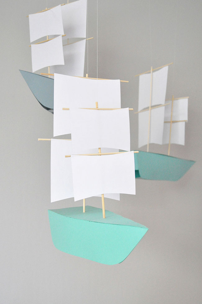 Paper Boat Decorations