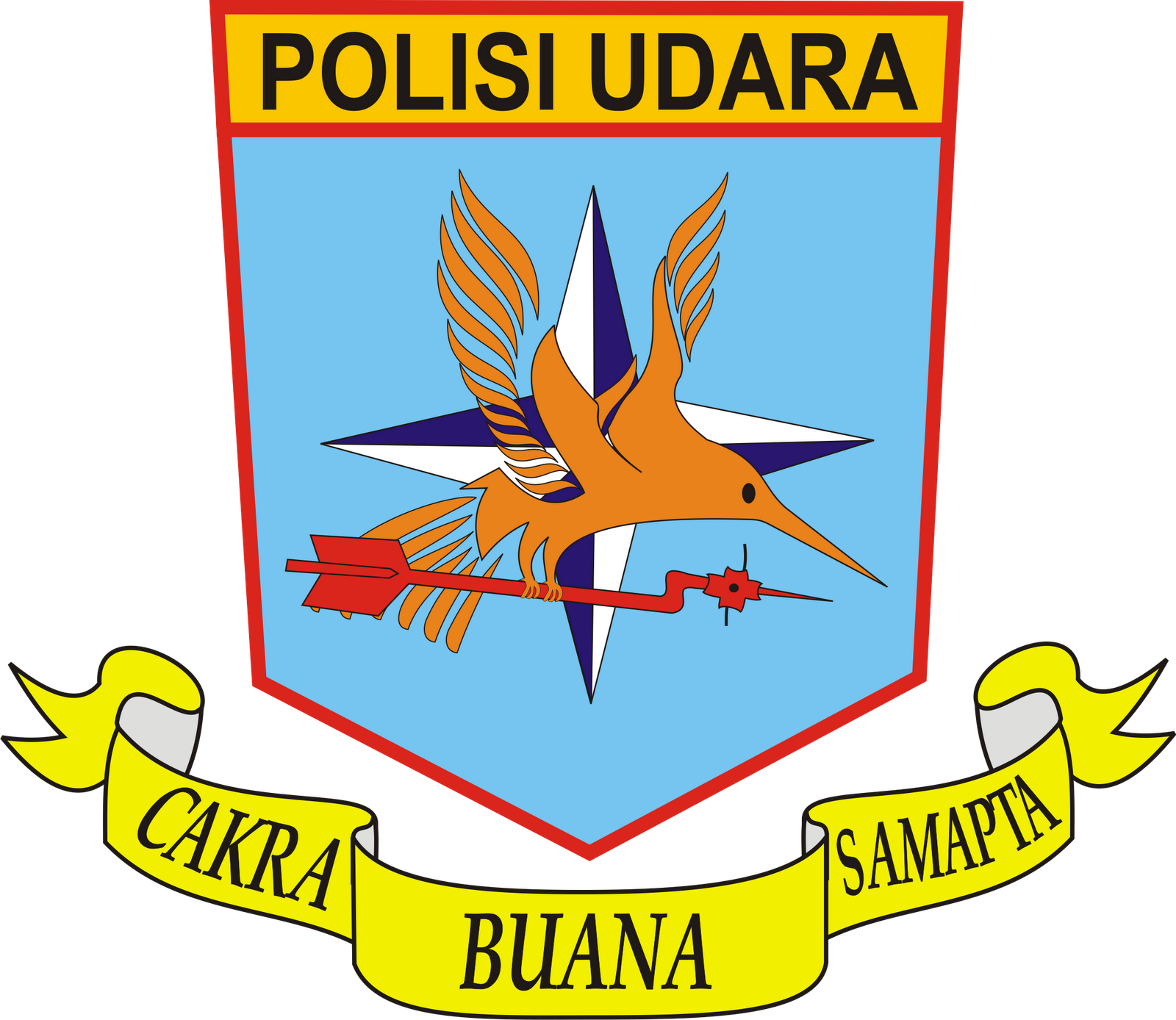Logo Polisi Udara dan Logo Gegana - Ardi La Madi's Blog